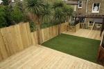 Garden decking in Bethnal Green