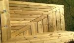 Decking steps in Brentwood, Essex