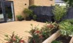 Modern garden design East London